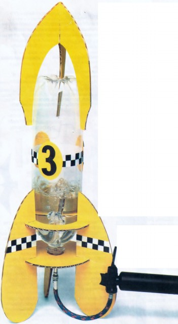 водяная реактивная ракета
